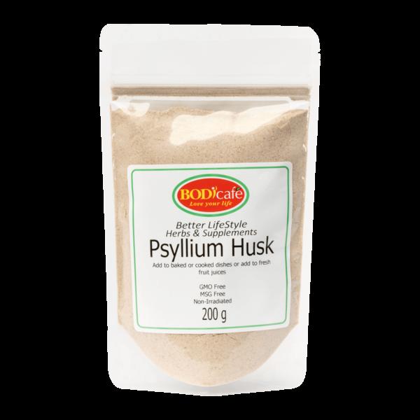 Psyllium Husk 200g   Lifestyle Supplements   Bodicafe