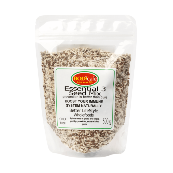Essential 3 Seed Mix   Nuts and Seeds   Bodicafe