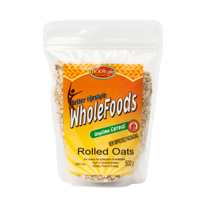 Rolled Oats 500g | Anytime Cereals | Bodicafe