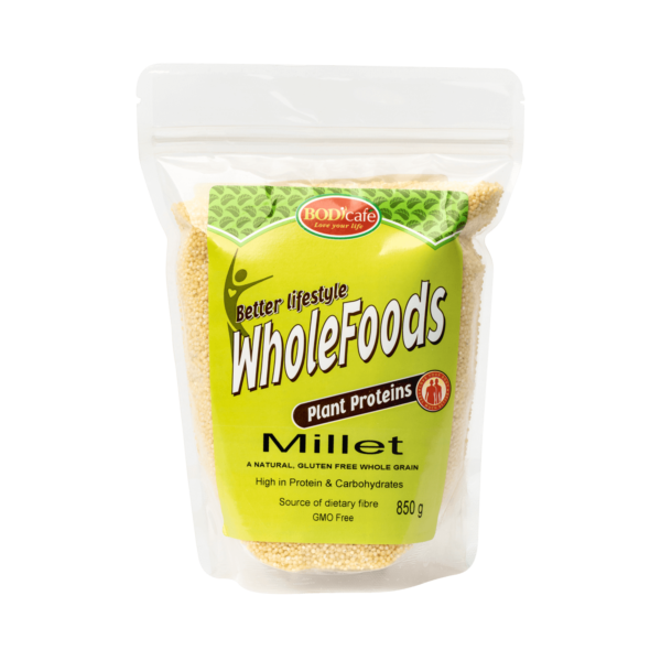 Millet 850g   Plant Proteins   Bodicafe