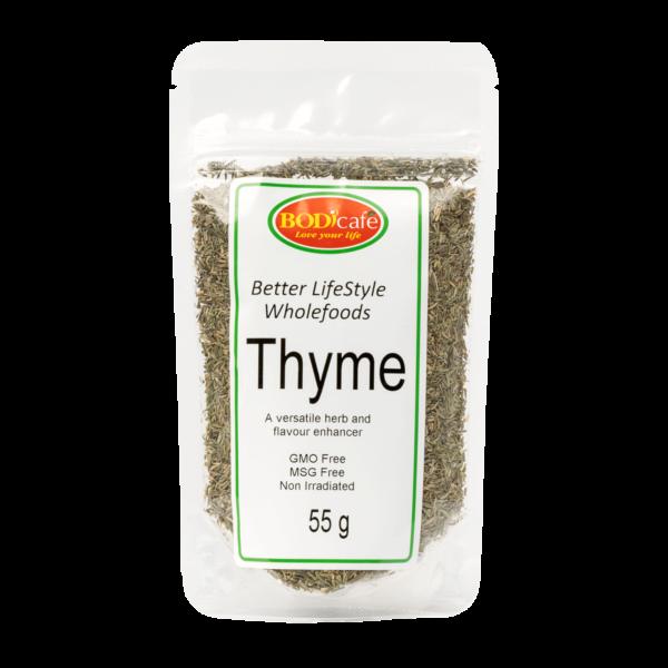 Thyme (Dried) 55g | Seasonings | Wholefoods | BodiCafe