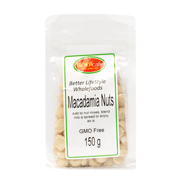 Macadamia Nuts 150g | Nuts and Seeds | Bodicafe