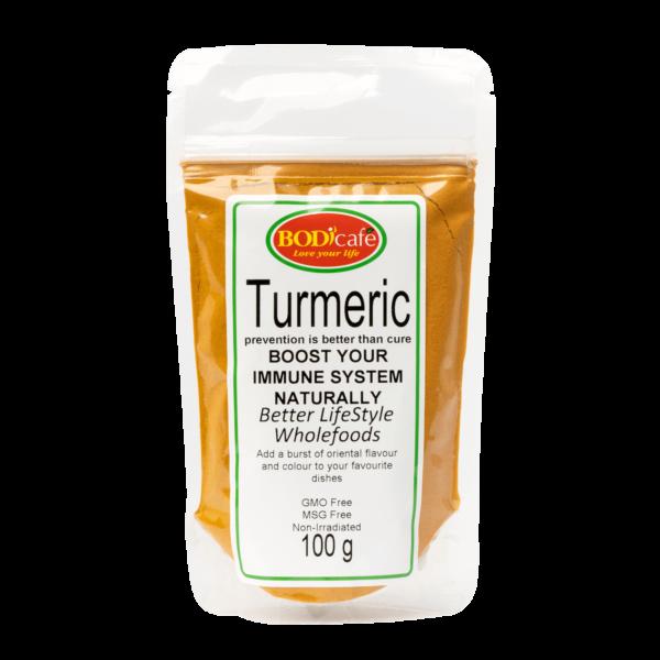 Turmeric Powder 100g | Seasonings | Wholefoods | Bodicafe