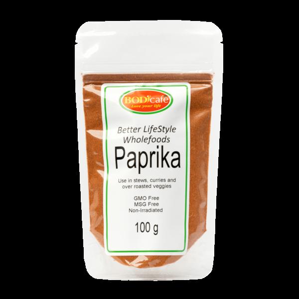 Paprika 100g   Seasonings   Wholefoods   BodiCafe