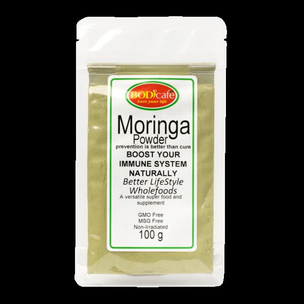 Moringa Powder 100g   Lifestyle Supplements   BodiCafe