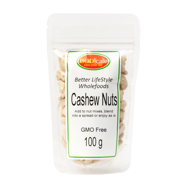 Cashew Nuts 100g   Nuts and Seeds   Bodicafe