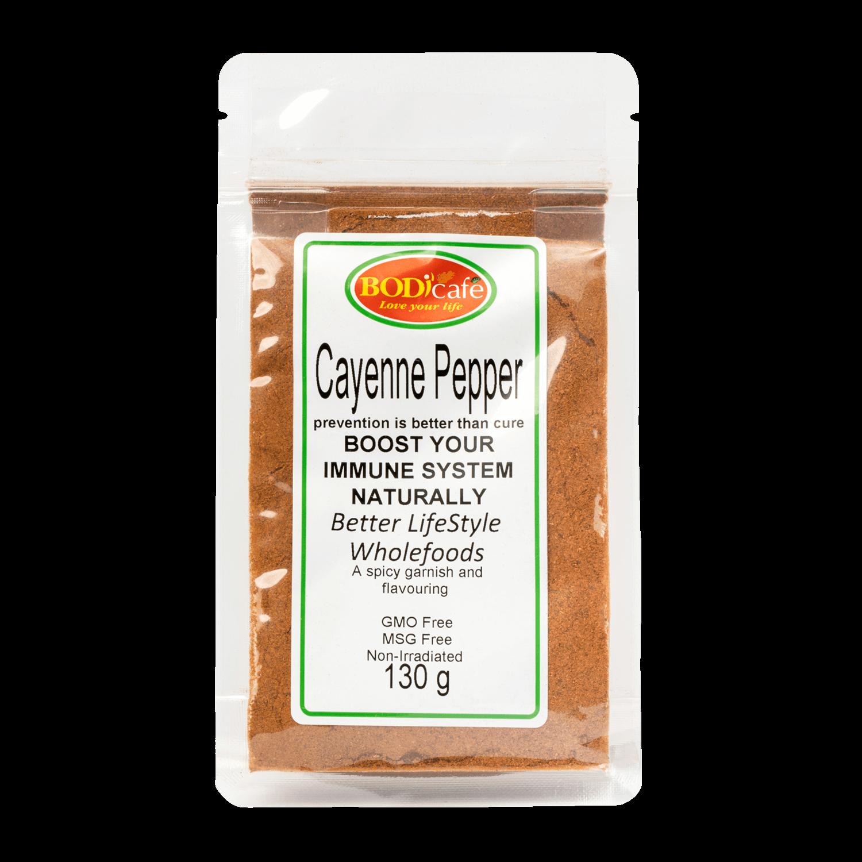 Cayenne Pepper 130g | Seasonings | Bodicafe