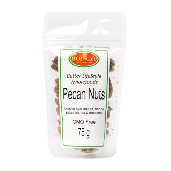 Pecan Nuts 75g | Nuts and Seeds | Bodicafe