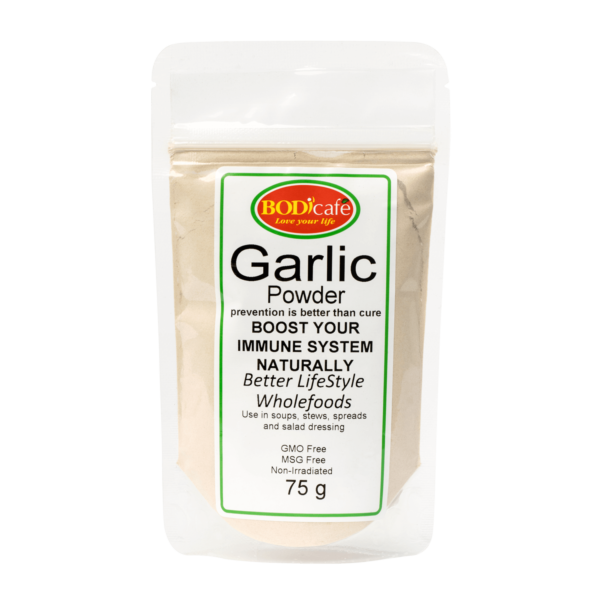 Garlic Powder 75g | Seasonings | Bodicafe