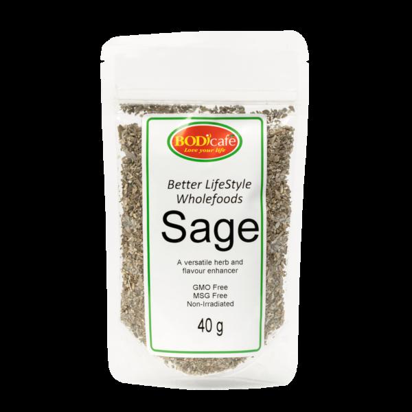 Sage (Dried) 40g | Seasonings | Wholefoods | Bodicafe