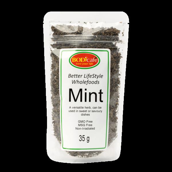 Mint (Dried) 35g   Seasonings   Wholefoods   BodiCafe