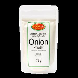 Onion Powder 75g | Seasonings | Wholefoods | Bodicafe