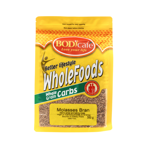 Molasses Bran 350g | Anytime Cereals | Bodicafe
