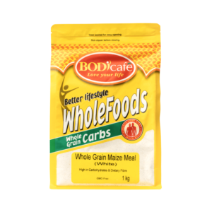 Whole Grain Maize Meal (White) | Wholegrains Carbs | BodiCafe