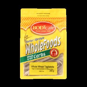 Tagliatelle (Whole Wheat) 250g | Wholegrains Carbs | BodiCafe