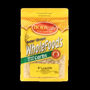 Fusilli (Gluten Free) 250g | WholeGrain Carbs | Bodicafe