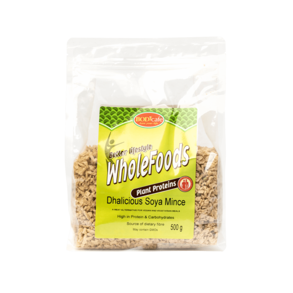 Dhalicious Soya Mince   Plant Proteins   Bodicafe
