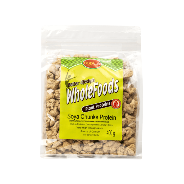 Soya Chunks Protein   Plant Proteins   BodiCafe