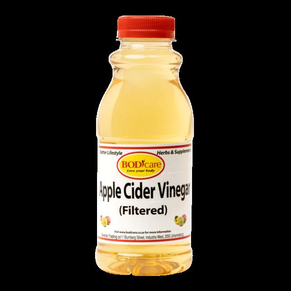 Apple Cider Vinegar Filtered 500ml   Lifestyle Supplements   Bodicafe